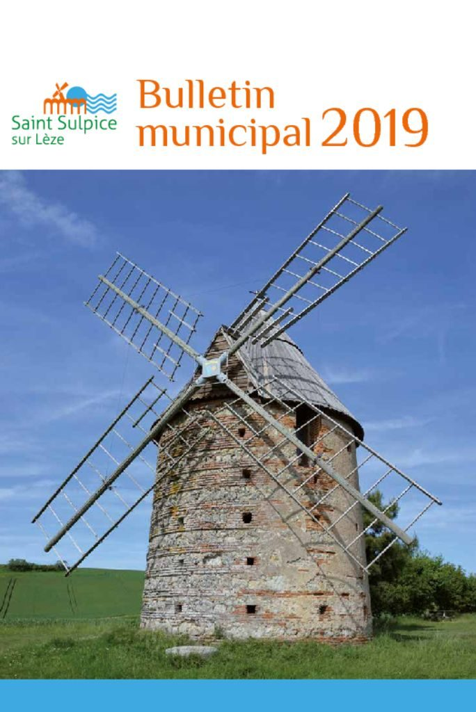 thumbnail of BULLETIN MUNICIPAL 2019 modifié v3