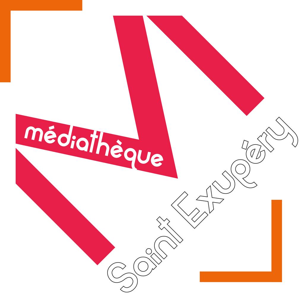 Logo Médiathèque Saint-Exupéry