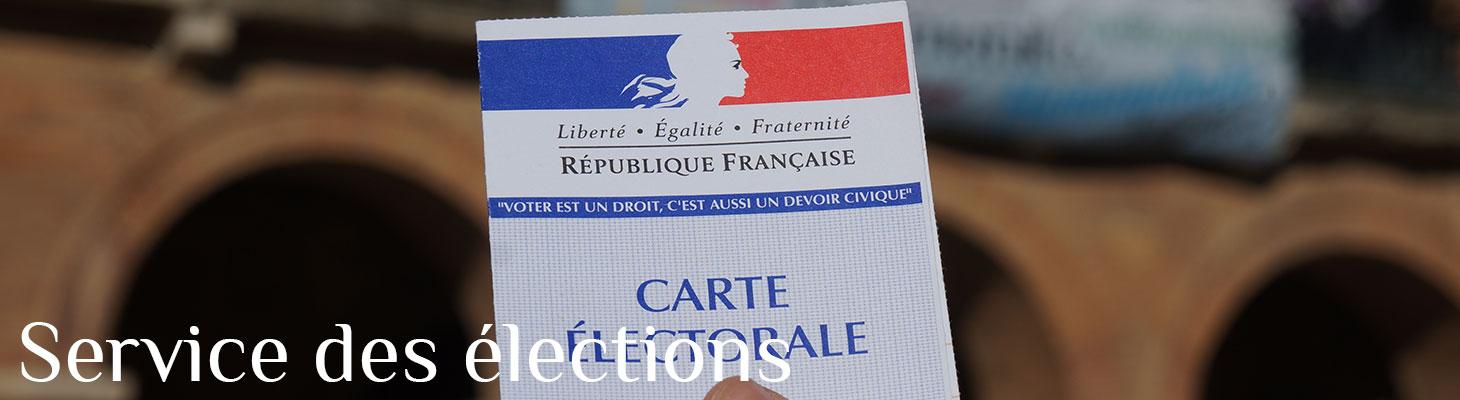 Services des élections - Saint-Sulpice-sur-Lèze