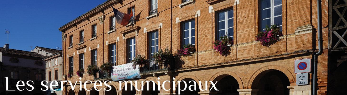 Les services municipaux de Saint-Sulpice-sur-Lèze